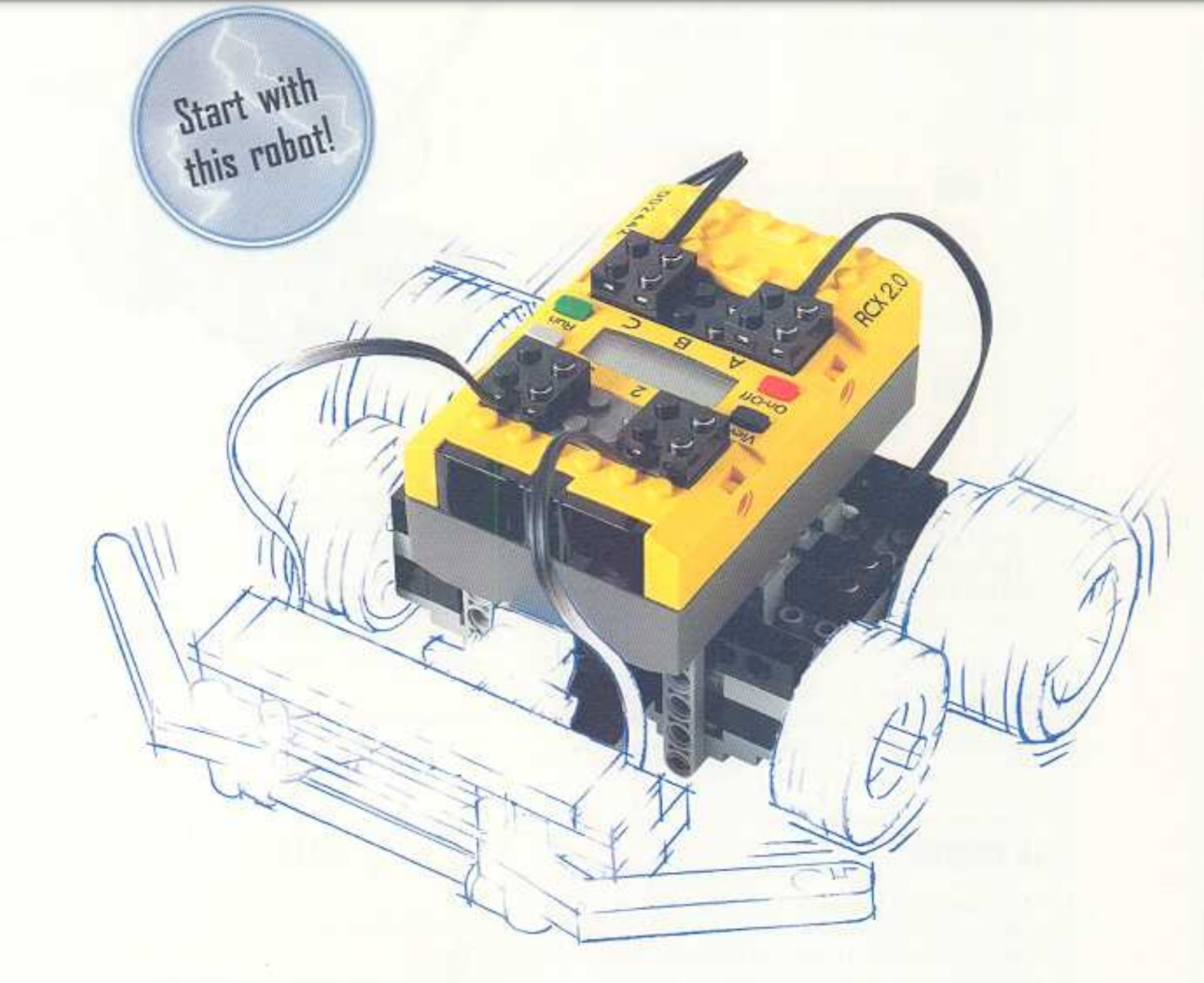 An image of a Lego Mindstorm.