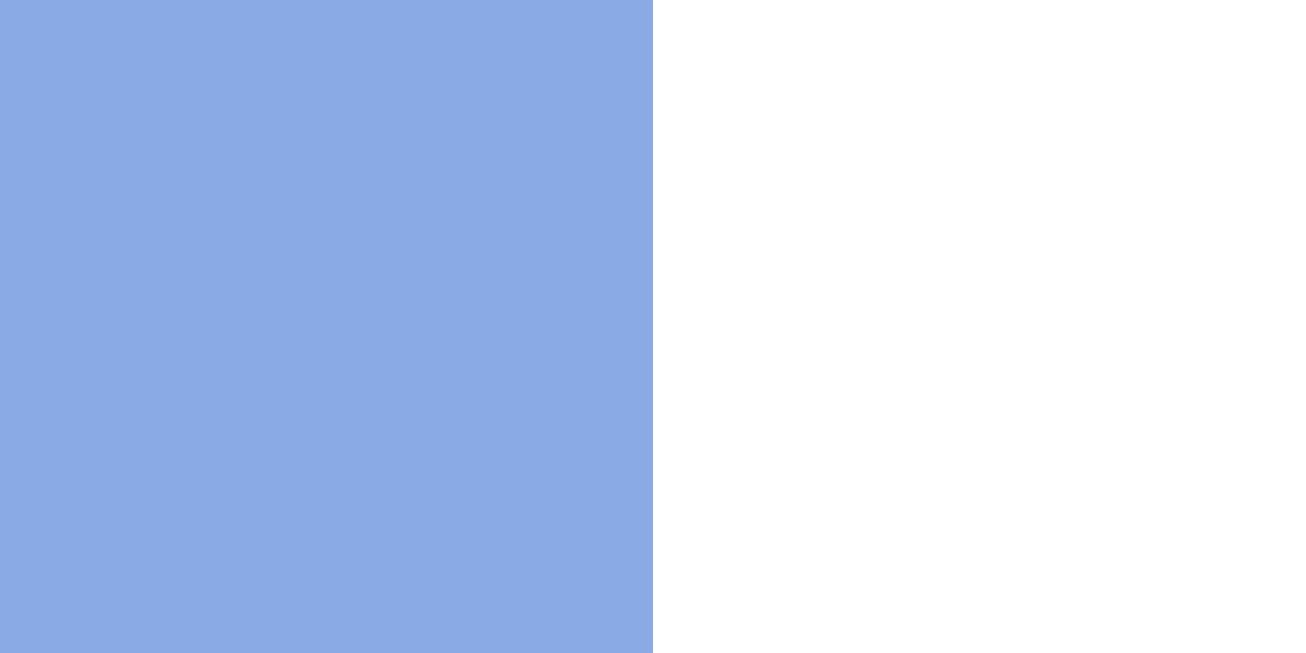 An image of the baby blue and white color combination