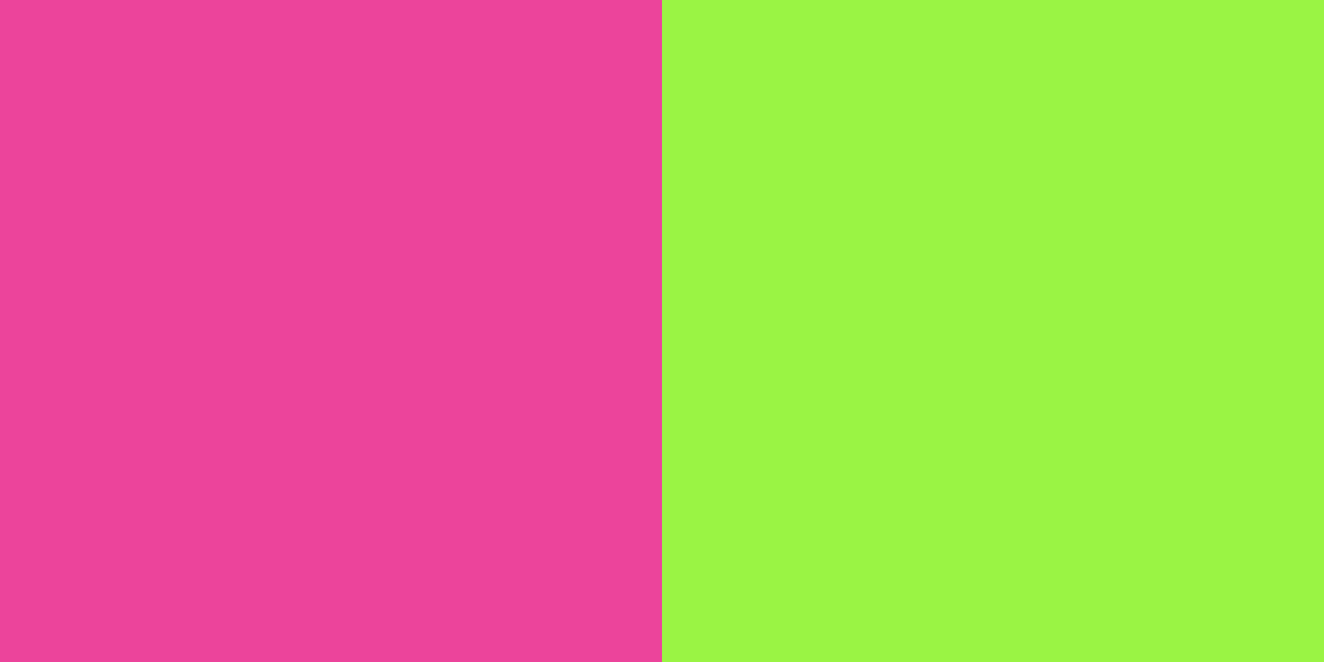 An image of the fuchsia and neon green color combination.