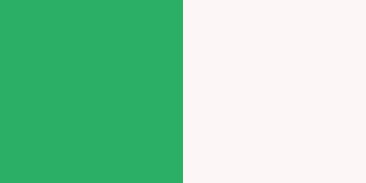An image of the island green and white color combination.