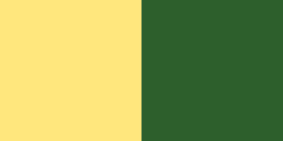 An image of the yellow and verdant green color combination.