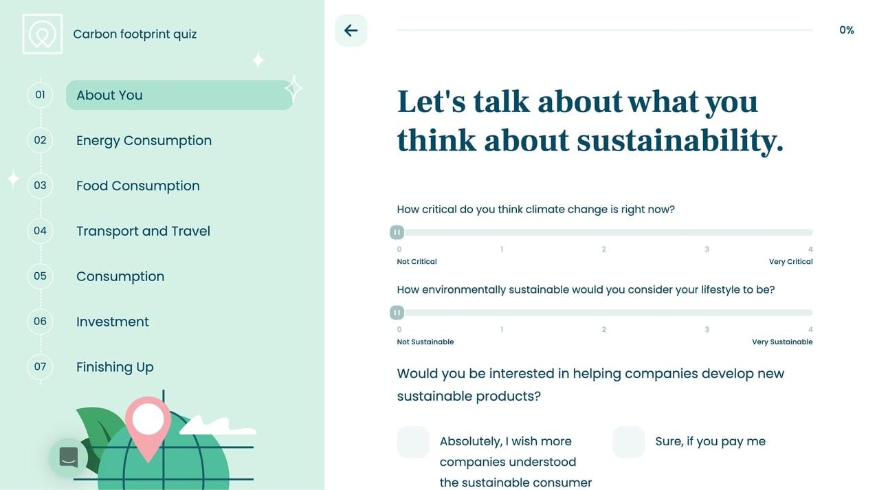 Screenshot of Aurora homepage
