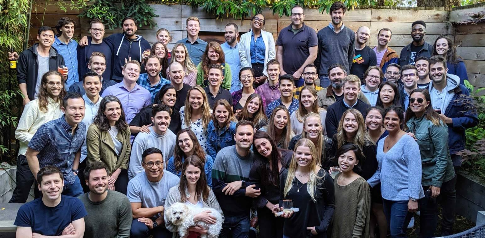 Team photo of Lattice employees