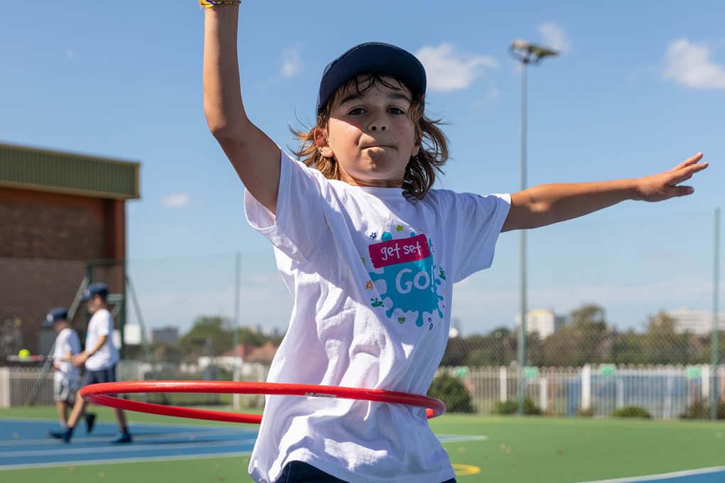 hula hoop boy