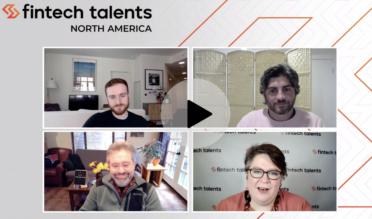 Chris Dean speaking at Fintech Talents North America