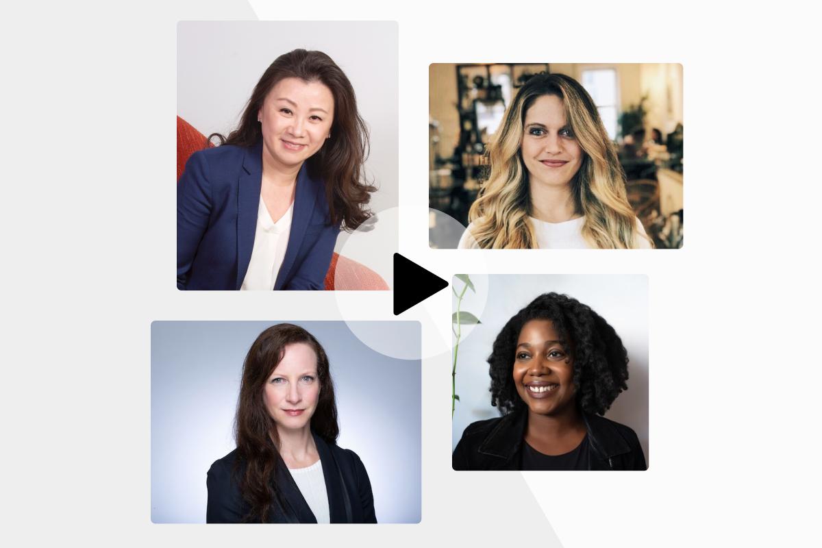 Female leaders in fintech: Wendy Cai-Lee, Julie Verhage, Clarissa Horowitz & Kelly Ifill