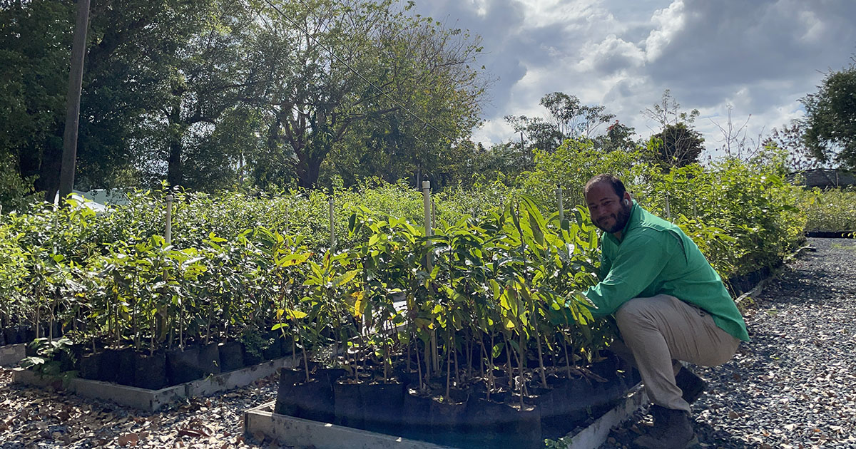 Christian Torres-Santana has dedicated his career to preserving some of the rarest plants on Earth. Now he's helping forge restoration partnerships throughout Latin America.