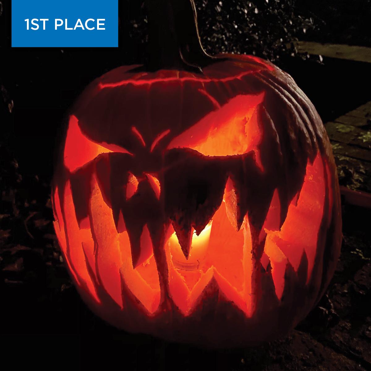 2020 Pumpkin Winner Spooky 1