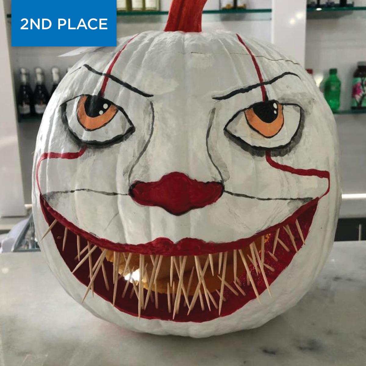 2020 Pumpkin Winner Spooky 2