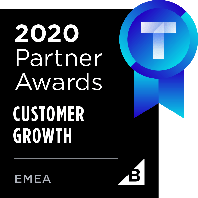 BigCommerce 2020 Partner Awards for Customer Growth EMEA