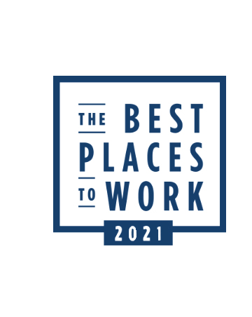 The Best Places to Work 2021 award