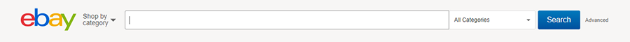 eBay Search Bar