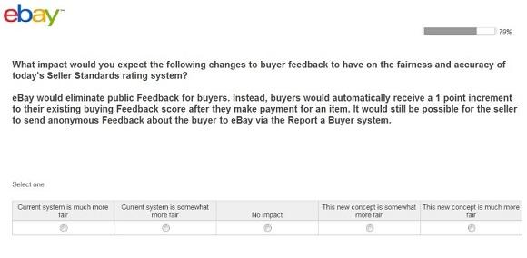 eBay Feedback Policy