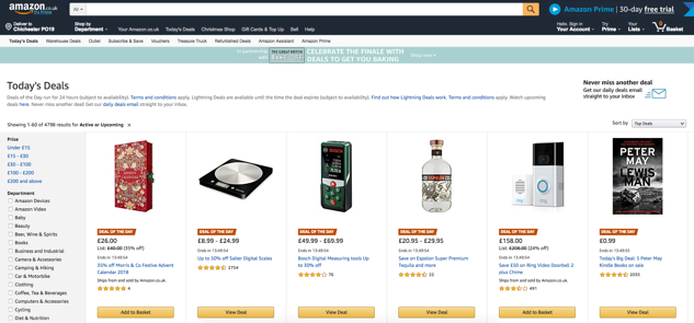 Amazon keyword research