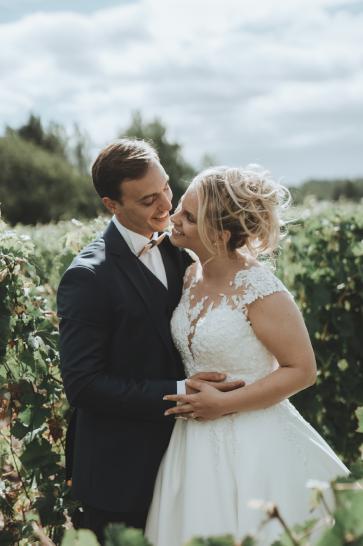 Photographie de mariage de Lucie et David