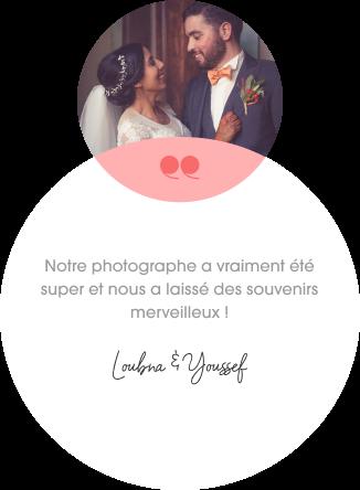 Loubna et Youssef, photographiés par Spark