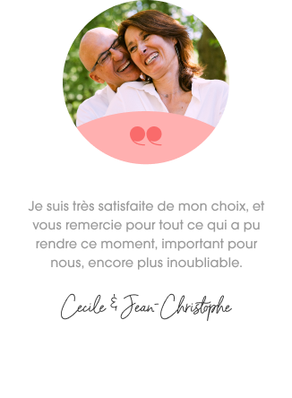 Cécile et Jean-Christophe, photographiés par Spark