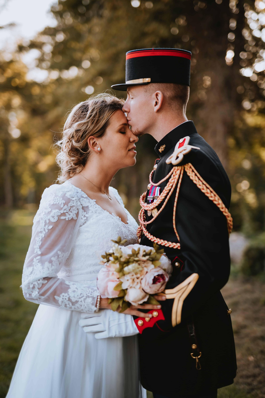Photo prise durant la séance de couple