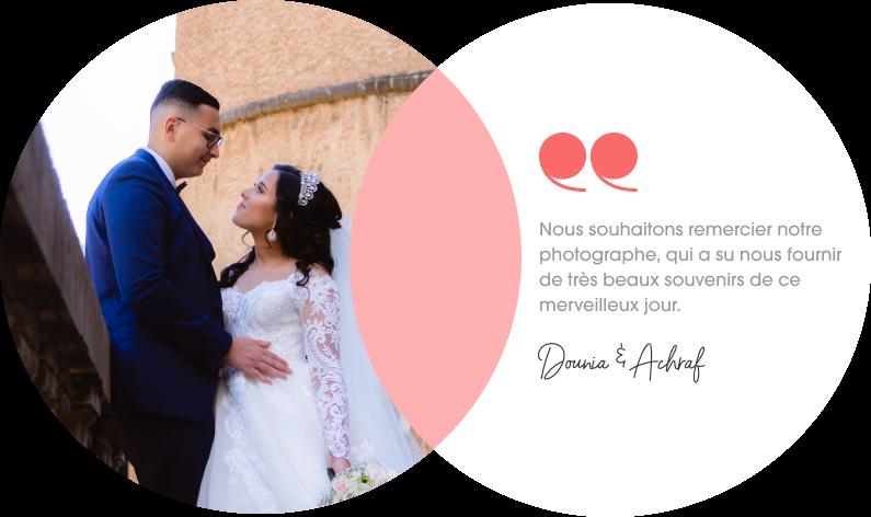 Témoignage d'un couple qui a réalisé ses photos de mariage avec Spark