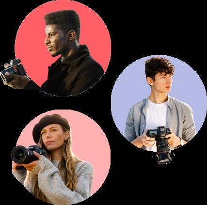 Portraits de nos photographes Spark