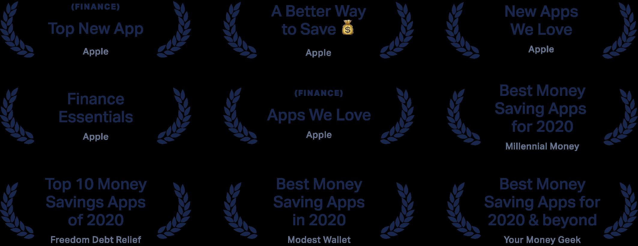App recognition awards
