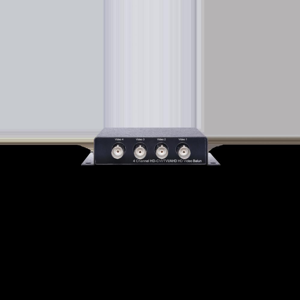 4 端口高清影像双绞线传输器