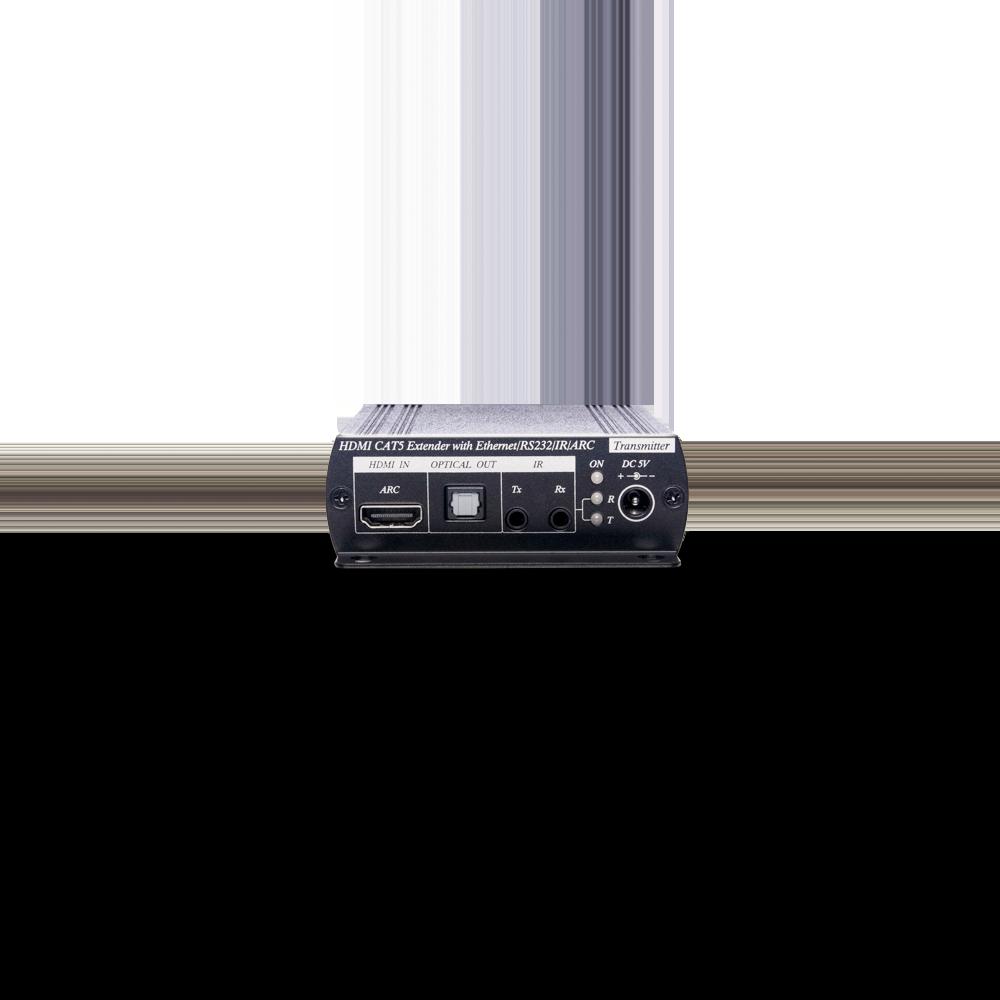 4K HDMI/IR/RS232/网络/ARC CAT5e 延长器