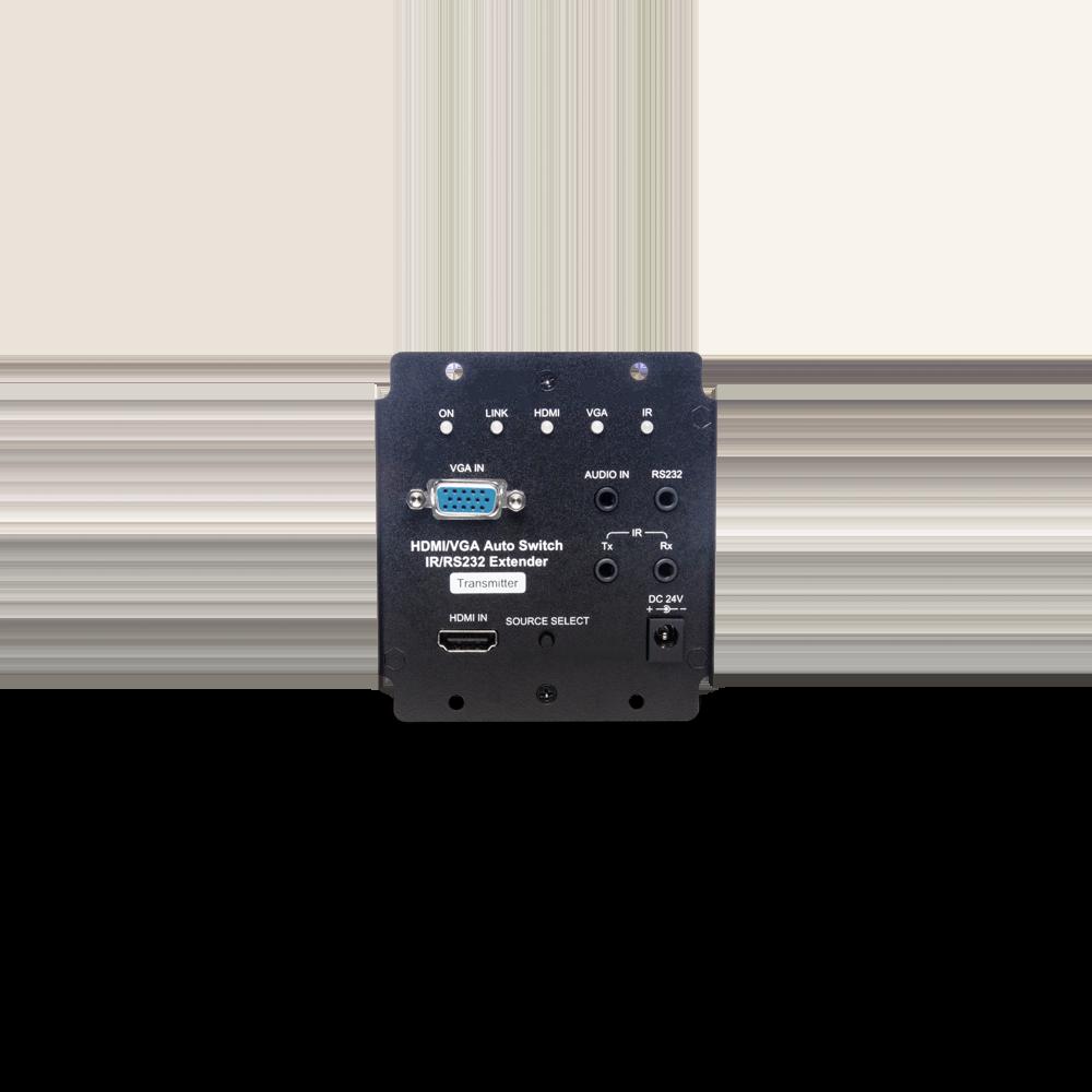 4K HDMI/VGA/IR/PoH/RS232/声音 CAT5e 延长器
