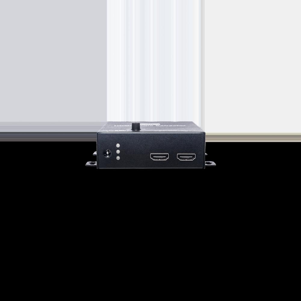 4K60Hz 1進2出HDMI分配器(搭載聲音分離及升降頻功能)