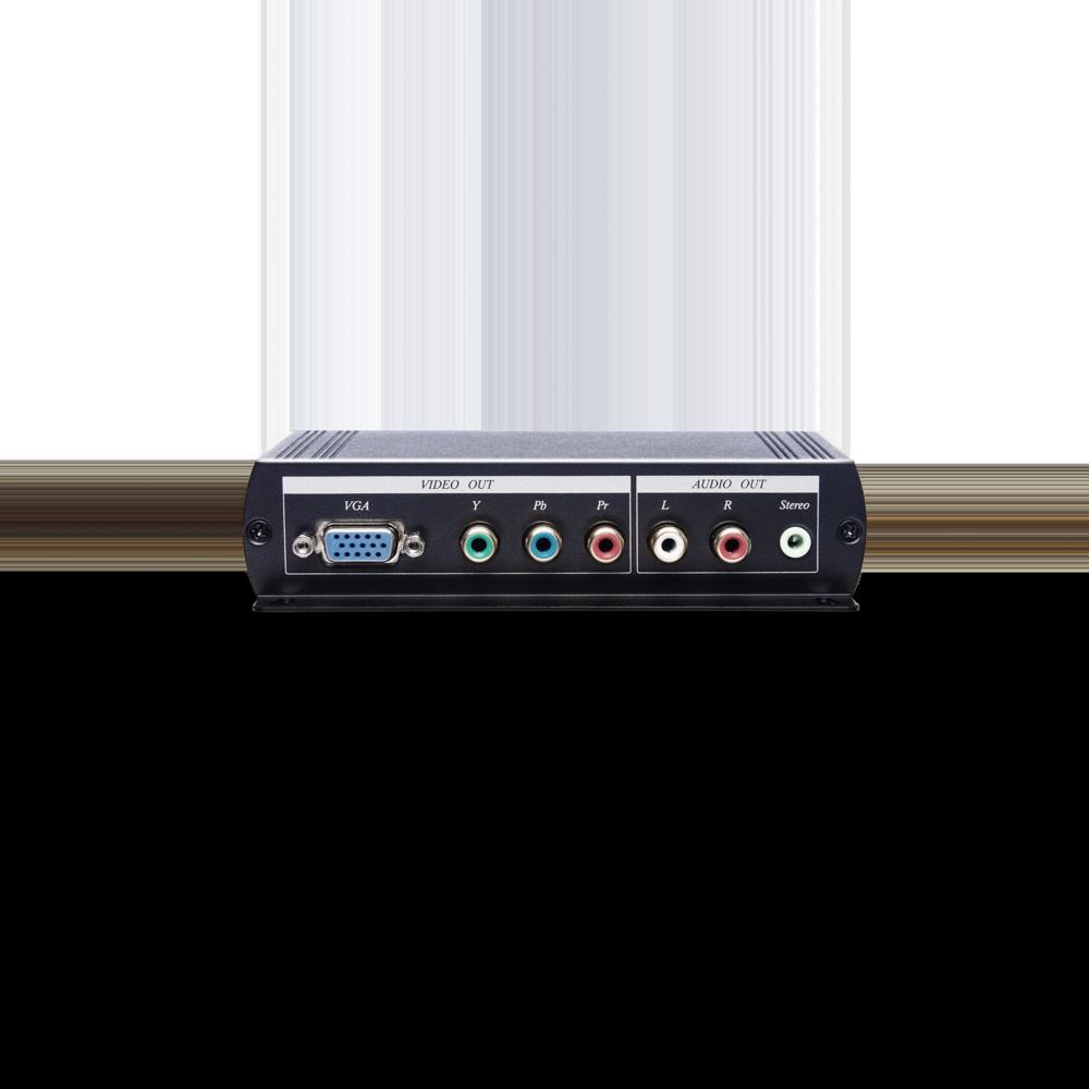 HDMI转VGA/色差影音转换器