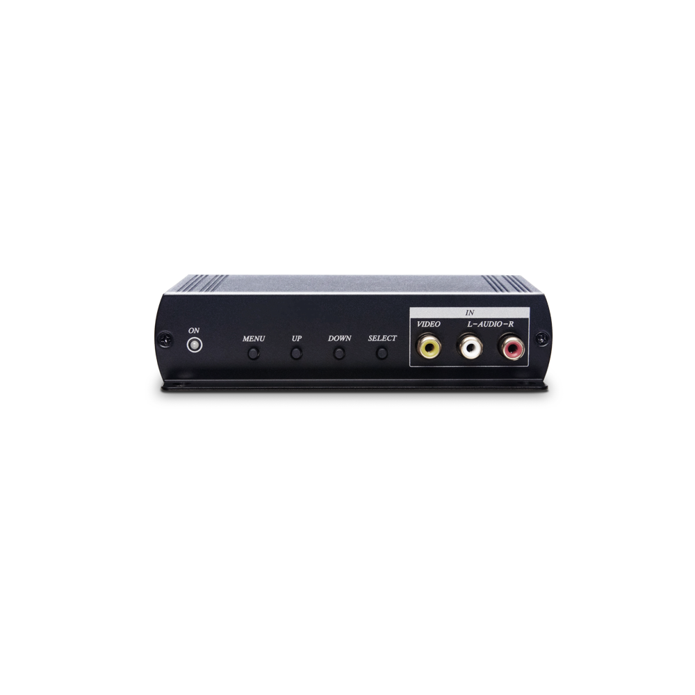 Video with stereo audio to VGA and HDMI Converter with scaler