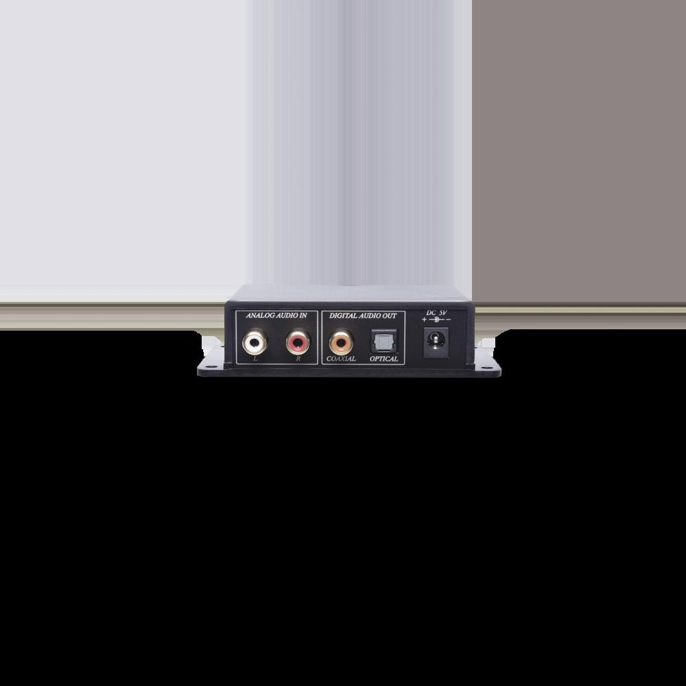 Analog/Digital Bi-directional Audio Converter