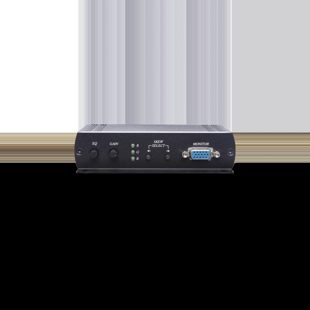1 x 3 VGA & Stereo Audio CAT5e Extender