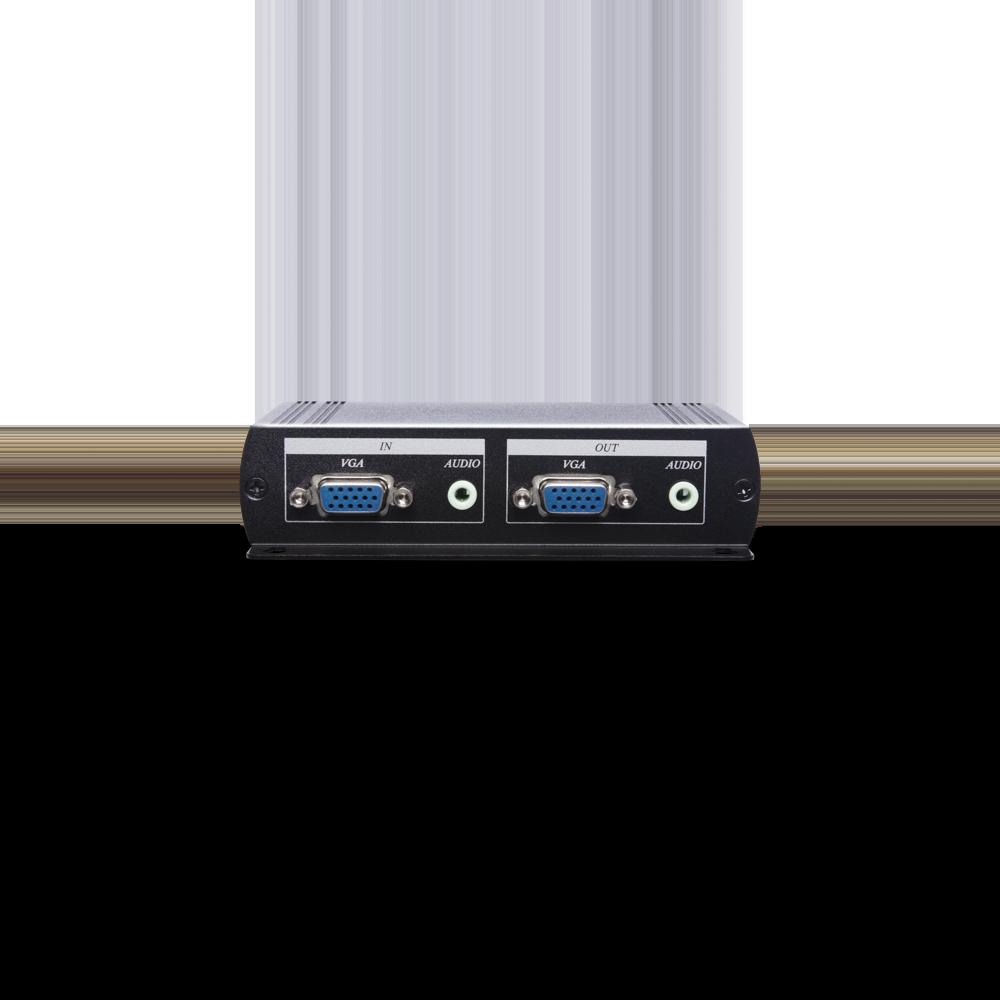 1 x 5 VGA & Stereo Audio Distribution Amplifier CAT5e Extender