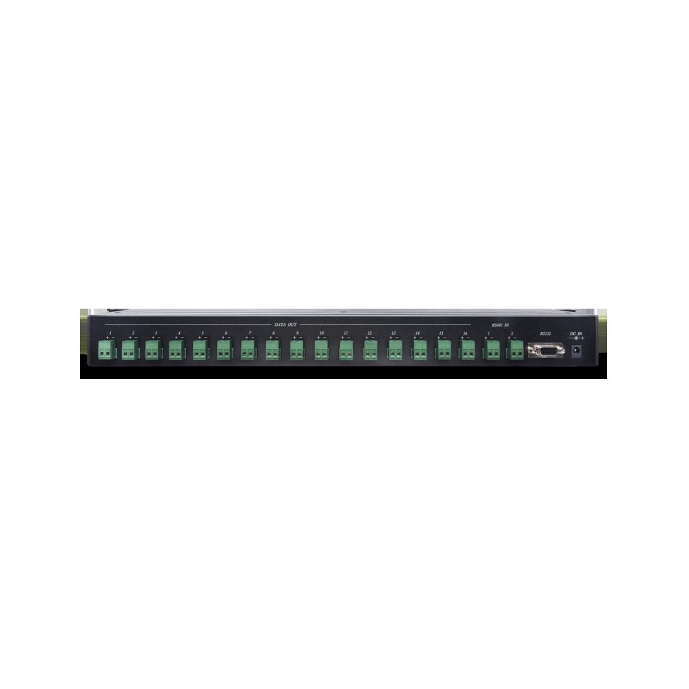 1 x 16 RS485 Serial Data Distributor in 1U Rack