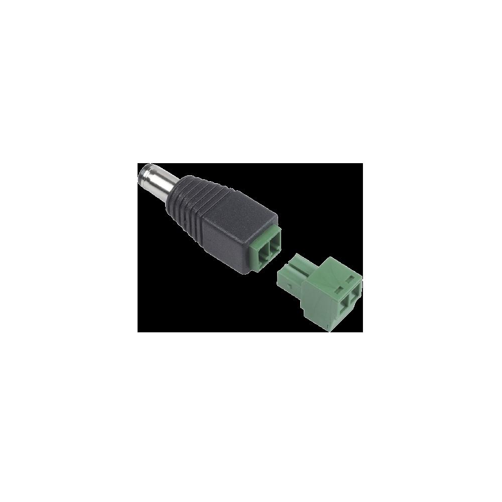 DC Plug to Terminal Block