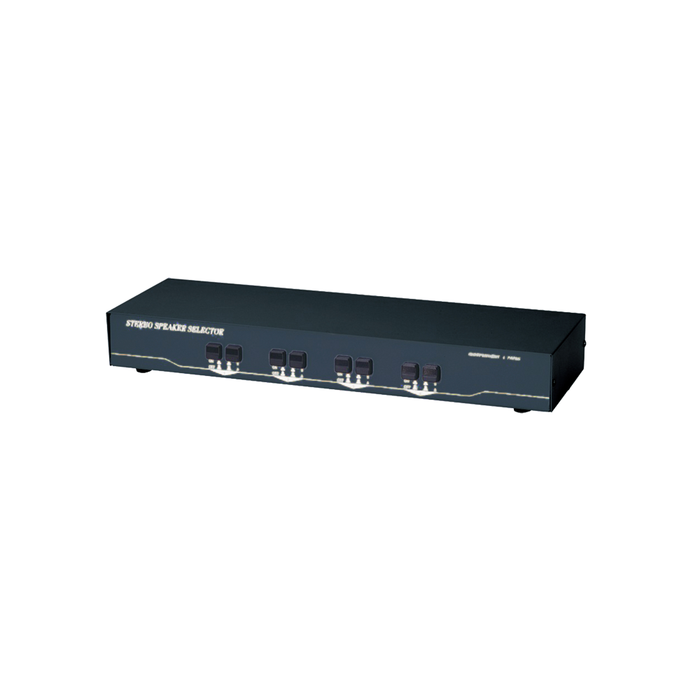150W 2進4出 擴大機/喇叭選擇切換器