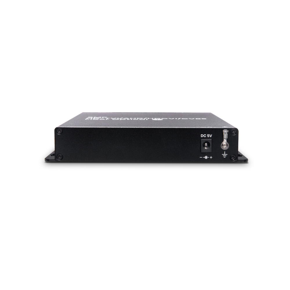4 端口高清影像及RS485 控制讯号光纤延长器
