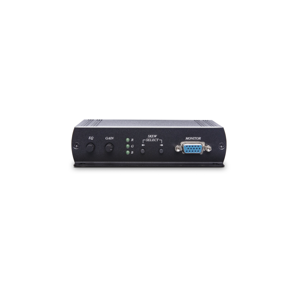 VGA/声音CAT5e 接收器搭载RGB偏移校正功能