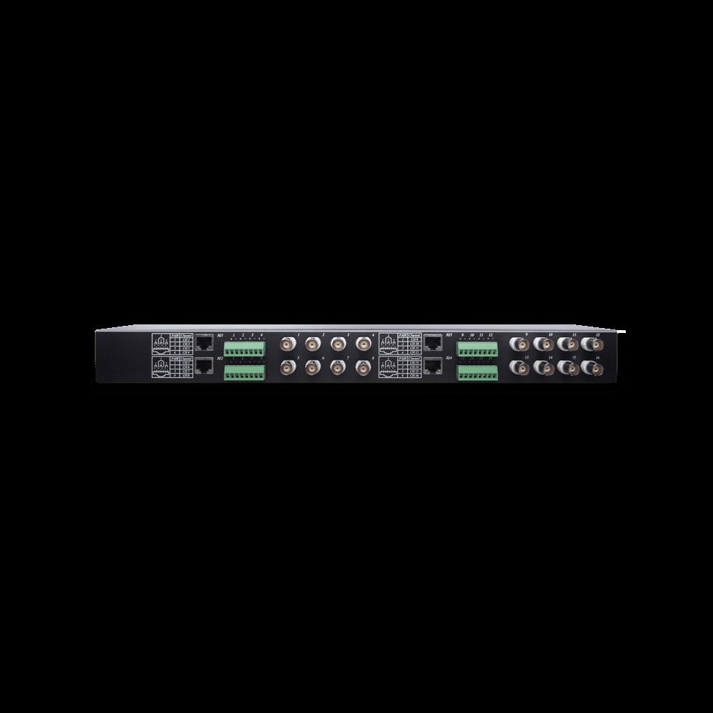 16 埠高清影像雙絞線傳輸器