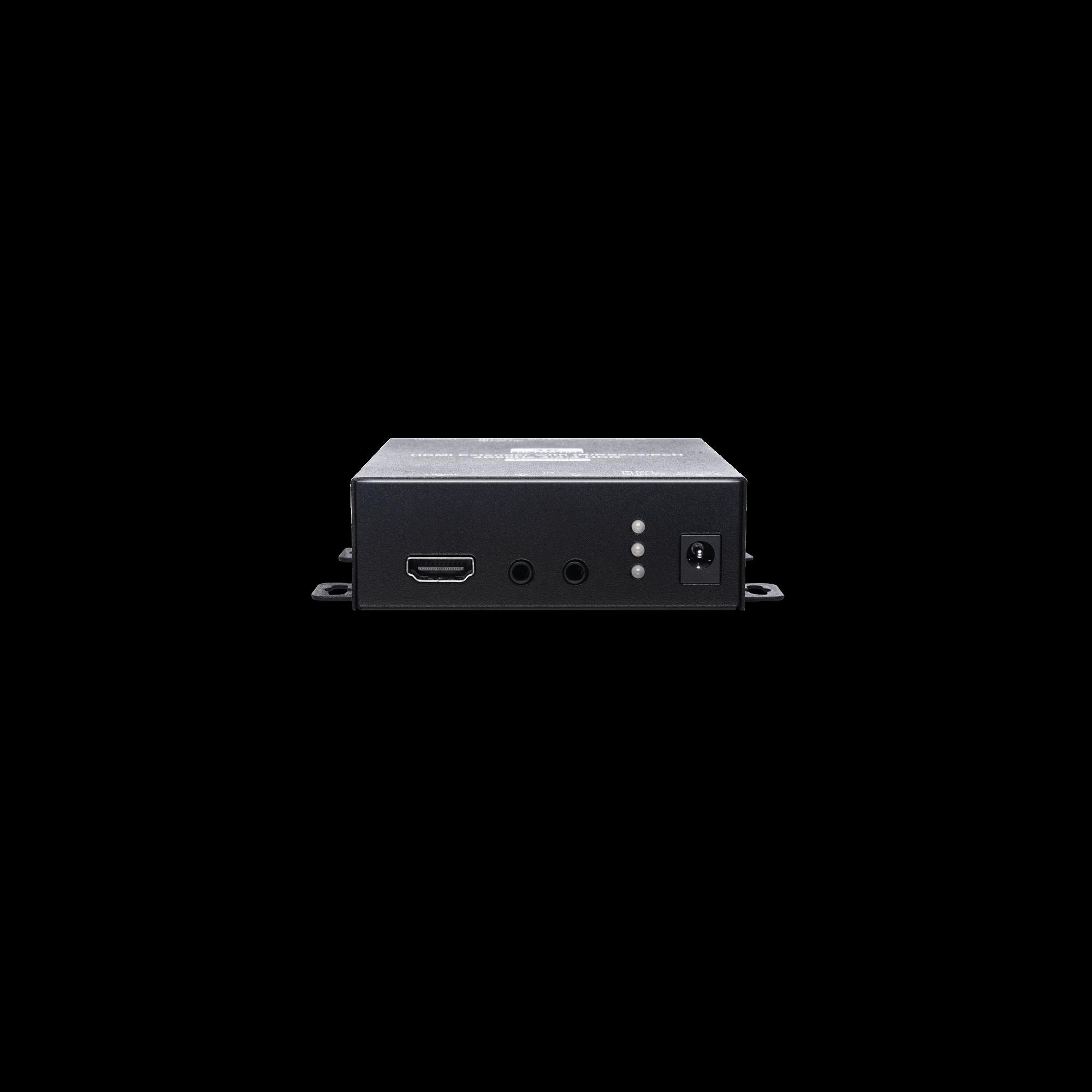 4K 60Hz 4:4:4 HDMI & IR/R232/POH CAT5e Extender 70M