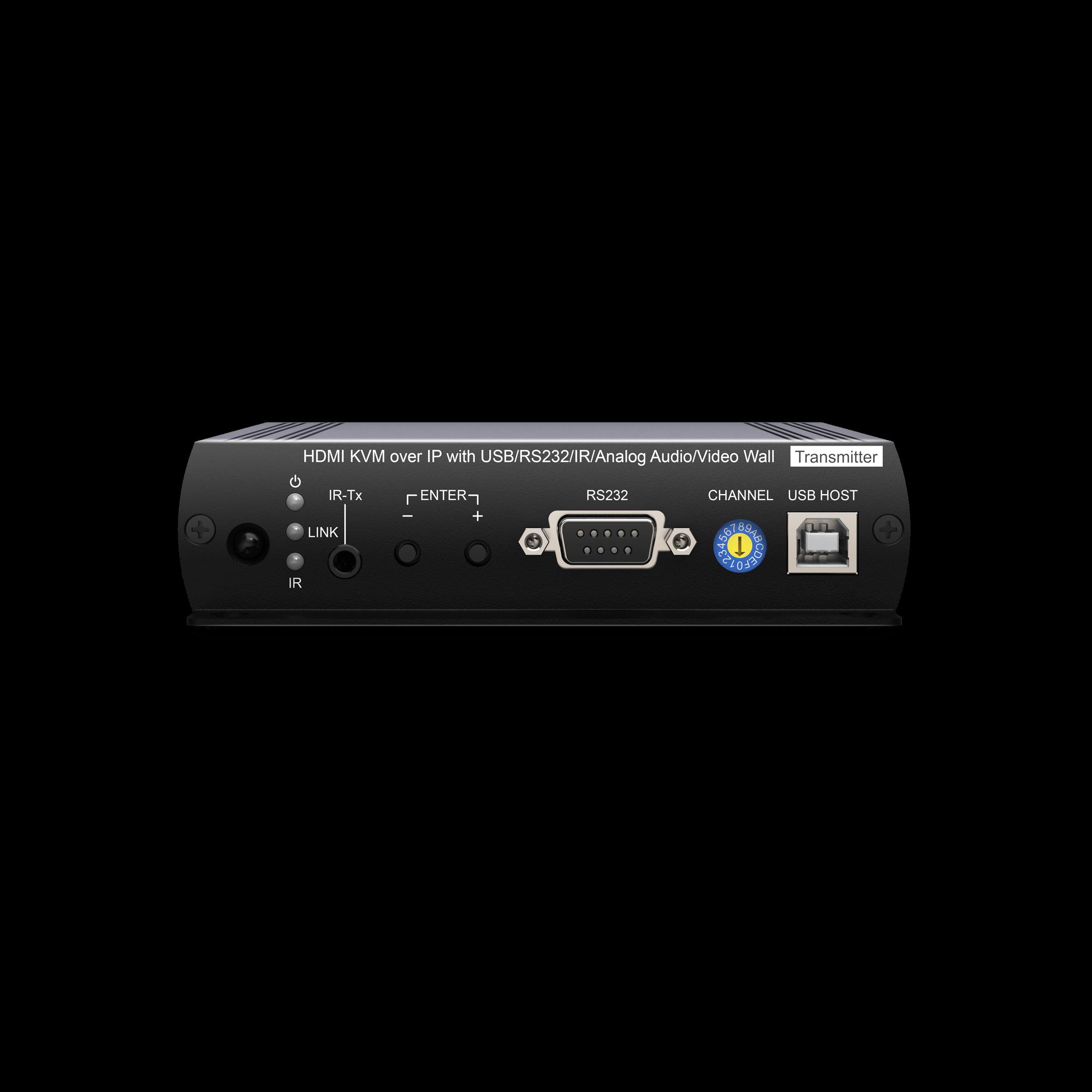 1080P HDMI KVM & USB, RS232 , IR, Audio over IP Extender