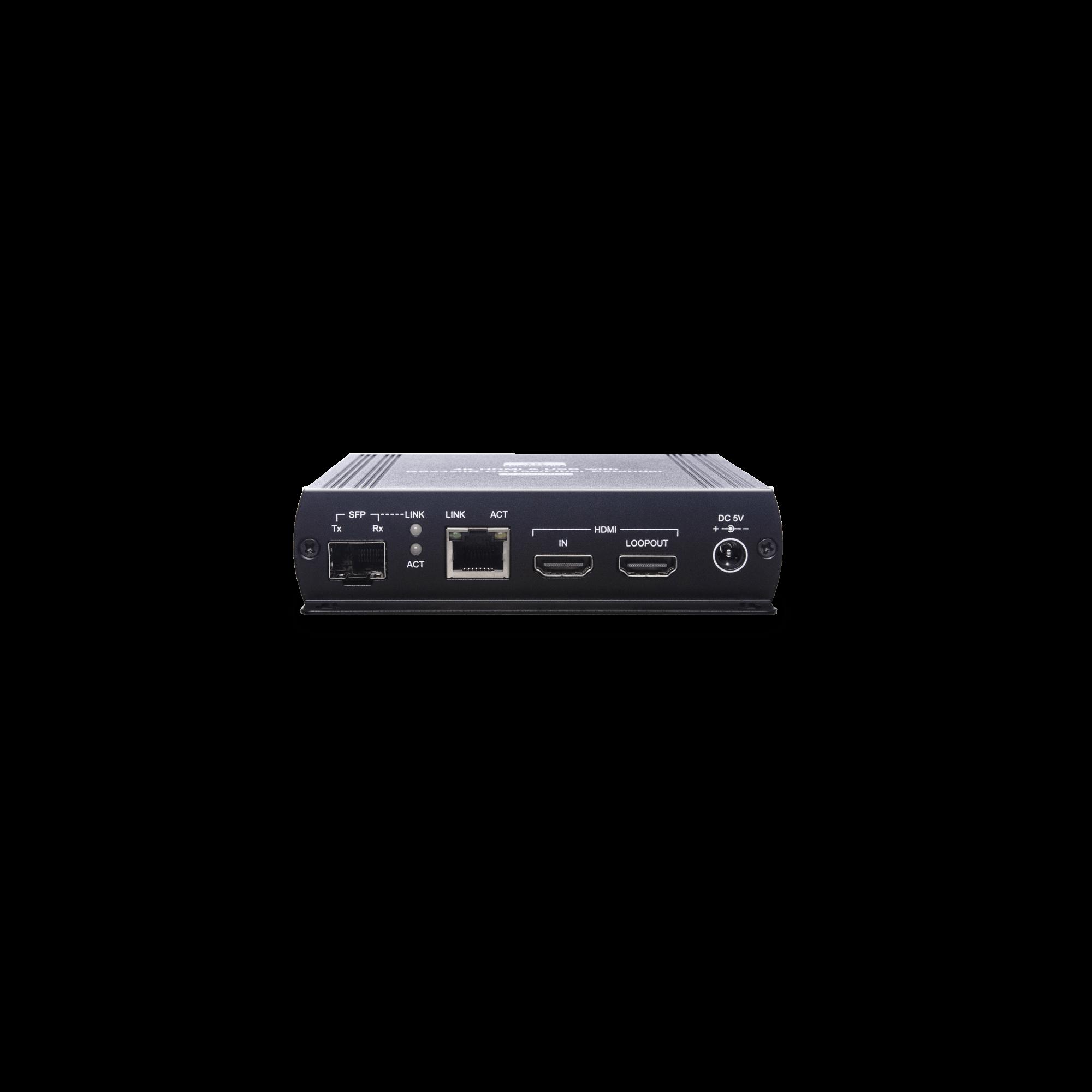 4K HDMI USB/Audio/RS232/IR CAT5e KVM Extender 140M with Fiber