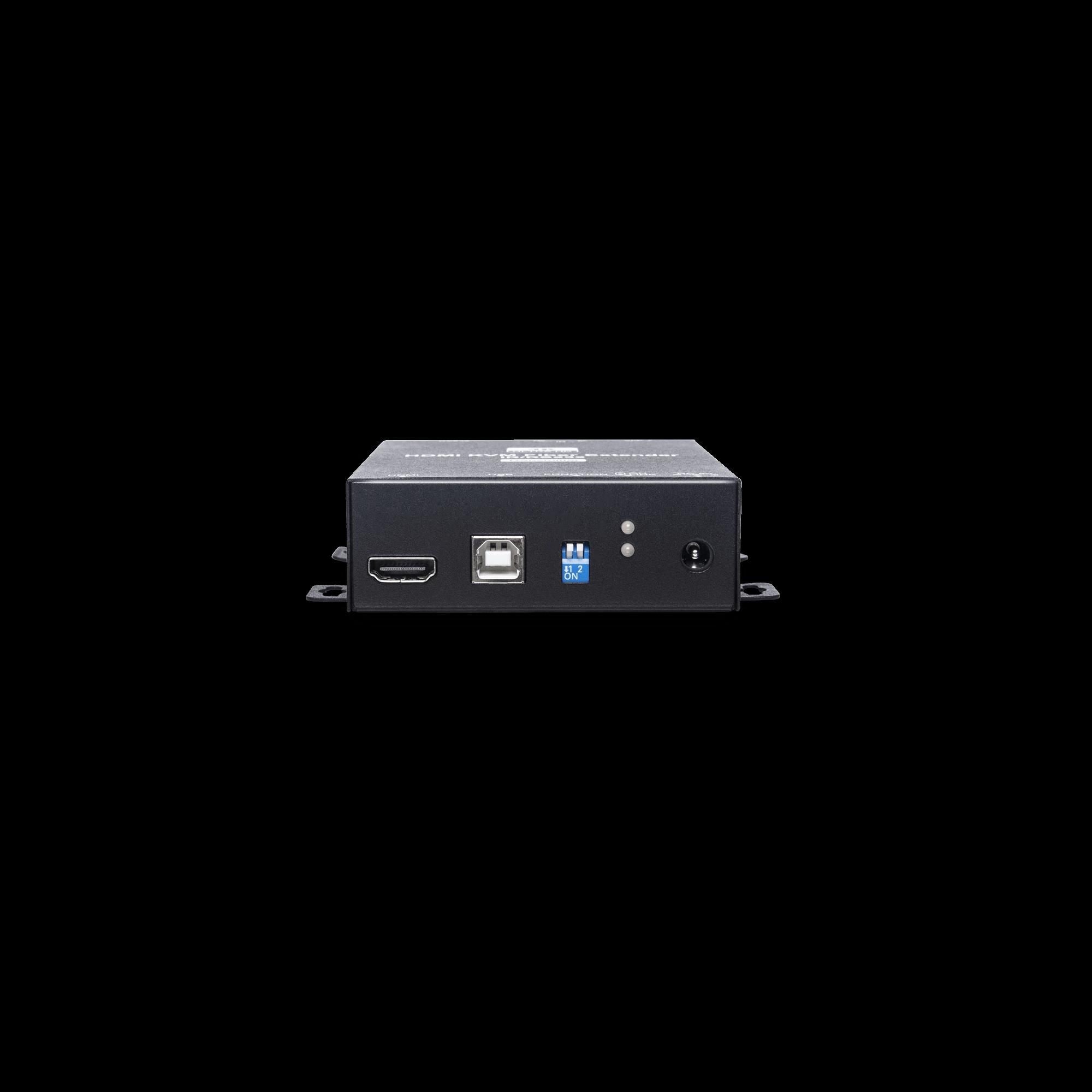 4K60Hz HDMI & USB/IR/RS232 KVM Fiber Optic Extender