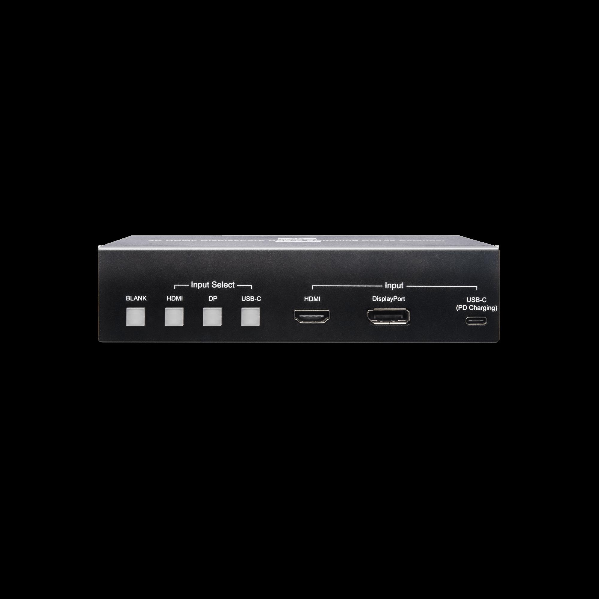 4K 60Hz HDMI/ Display Port/ USB-C Switching Extender