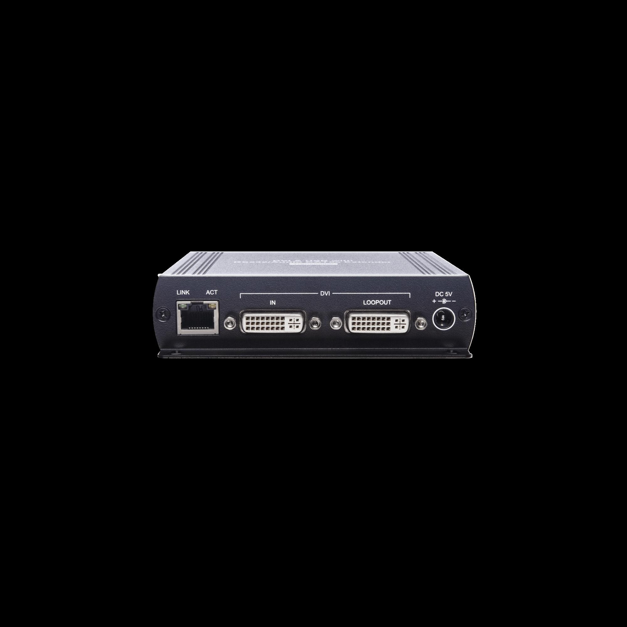 DVI USB/Audio/RS232 CAT5e KVM Extender
