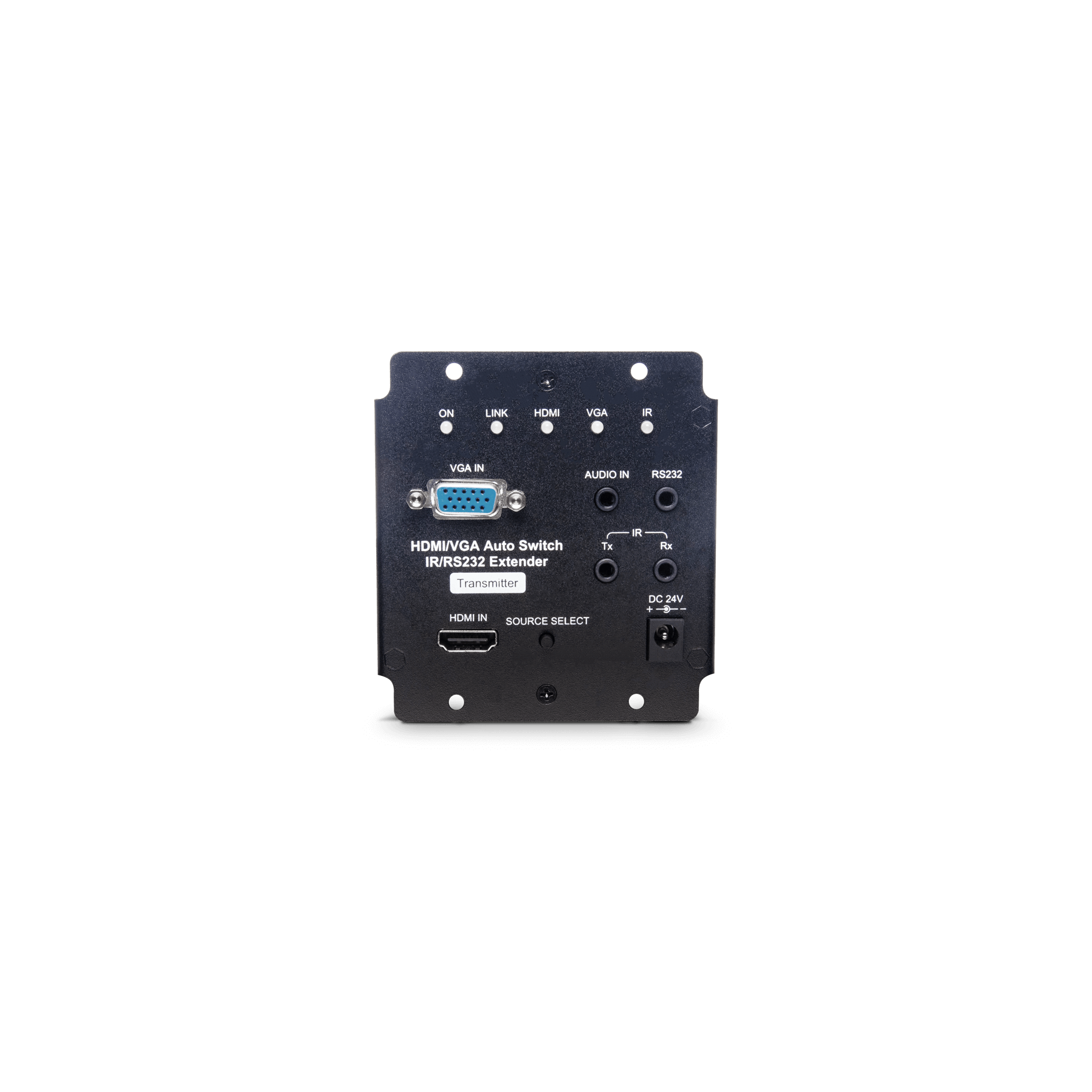 4K VGA/HDMI Auto-Switching & IR/RS232/POH HDBaseT Extender 70M