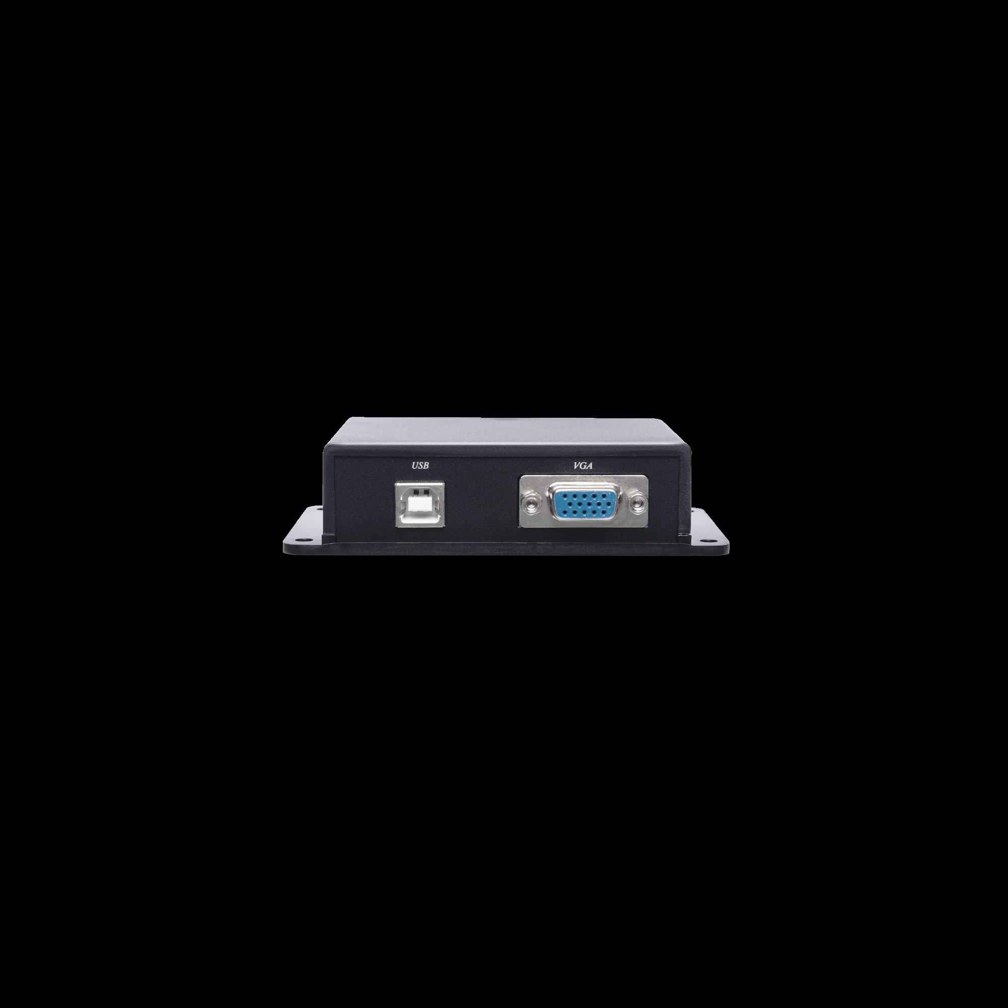 Passive VGA Keyboard Mouse CAT5e Extender