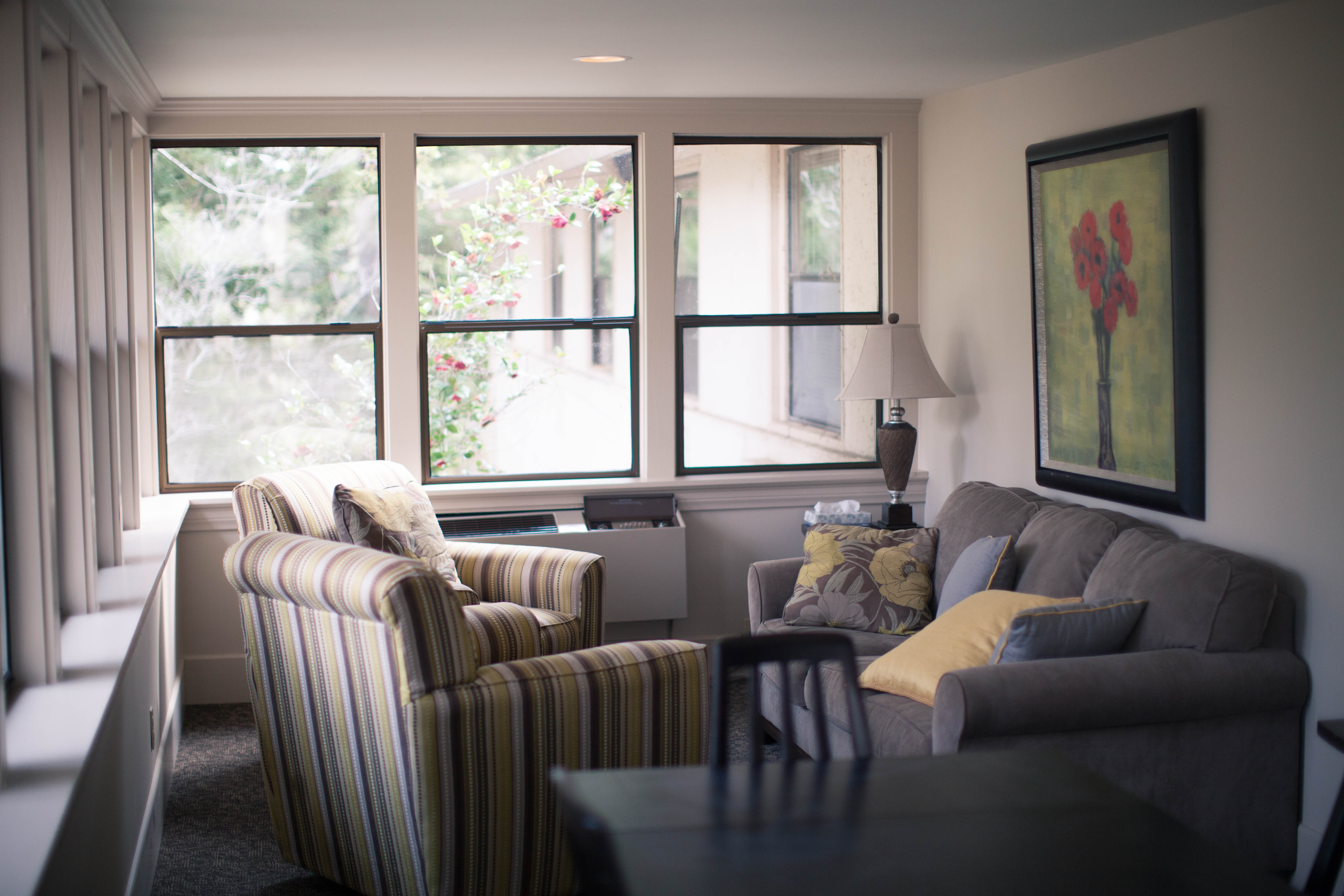 Residential Facilities living room
