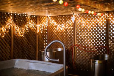 Residential Facility Sauna